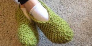 pletene-papuce